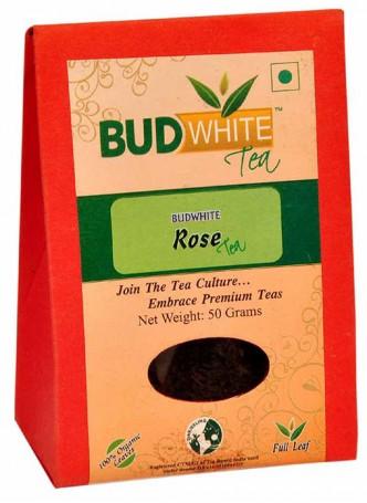 BudWhiteTeas Rose Tea (50 Gms Pack)