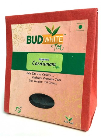 Budwhite Teas Cardamom Tea-100 Gm Loose