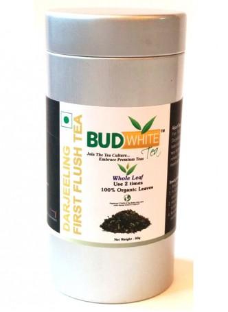 Budwhite Teas Darjeeling First Flush-50 Gm Loose Tin