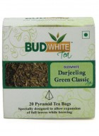 Budwhite Teas Darjeeling Green Classic Tea-20 Pyramid Teabags