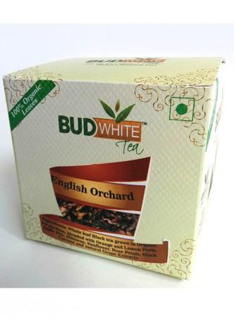 Budwhite Teas English Orchard-20 Pyramid Teabags