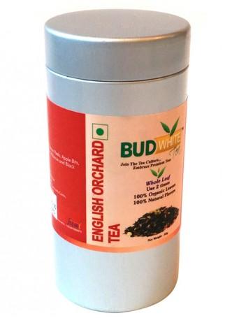 Budwhite Teas English Orchard-50 Gm Loose Tin