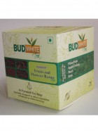 Budwhite Teas Fruits And Flowers Tea Combo-16 Pyramid Teabags
