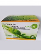 Budwhite Teas Green+ Orange Lemongrass-25 Teabags