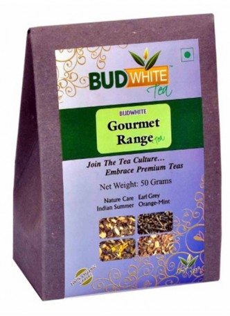 Budwhite Teas Gourmet Tea Combo -50 Gm Loose