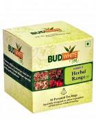 Budwhite Teas Herbal Tea Combo-16 Pyramid Teabags