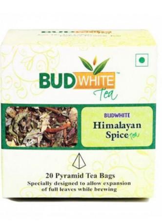 Budwhite Teas Himalayan Spice Tea-20 Pyramid Teabags