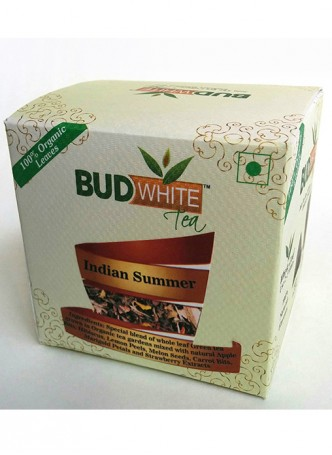 Budwhite Teas Indian Summer Tea-20 Pyramid Teabags