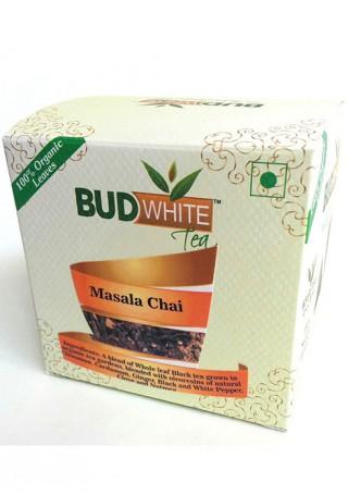 Budwhite Teas  Masala Chai-20 Pyramid Teabags