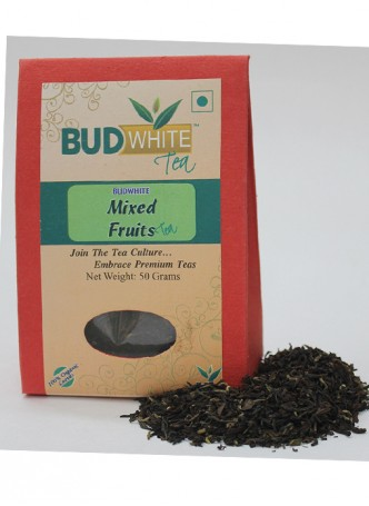 Budwhite Teas Mixed Fruits Tea-50 Gm Loose