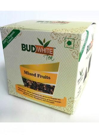 Budwhite Teas Mixed Fruits Tea-20 Pyramid Teabags