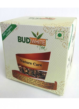 Budwhite Teas Nature Care Tea-20 Pyramid Teabags