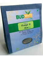 Budwhite Teas Orange And Mint Tea-100 Gm Loose