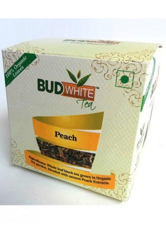 Budwhite Teas Peach Tea-20 Pyramid Teabags