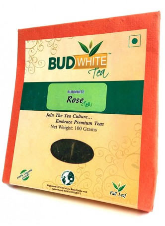 Budwhite Teas Rose Tea-100 Gm Loose