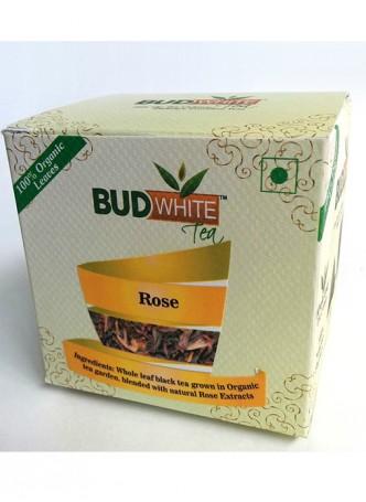 Budwhite Teas Rose Tea-20 Pyramid Teabags