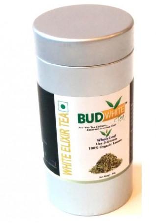 Budwhite Teas White Elixir-50 Gm Loose Tin
