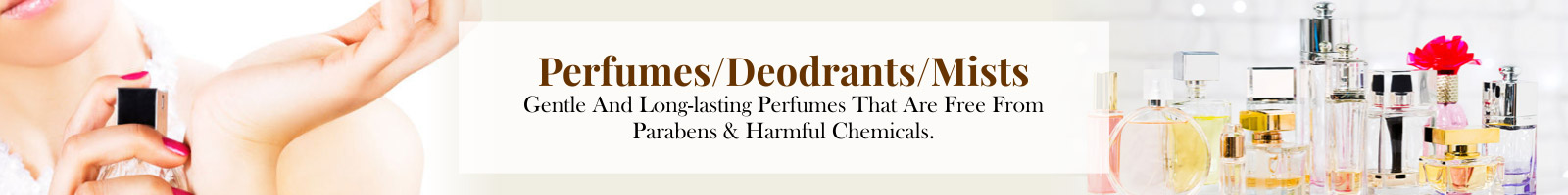 Perfumes & Deodorant sprays