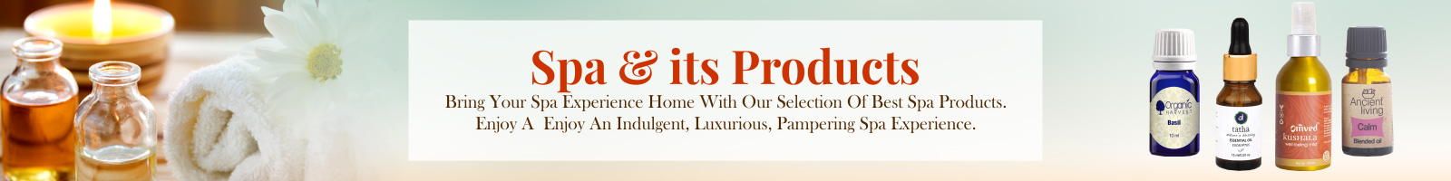 Spa & its Products