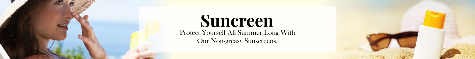 Body Sunscreen & Outdoor Care