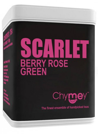 Chymey Scarlet (Berry Rose) Green Tea