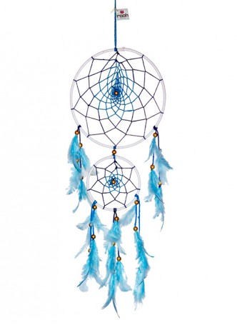 Dream Catcher by Rooh-Blue and White (large)