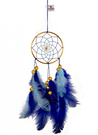 Dreamcatcher by Rooh-Blue and Brass (small)