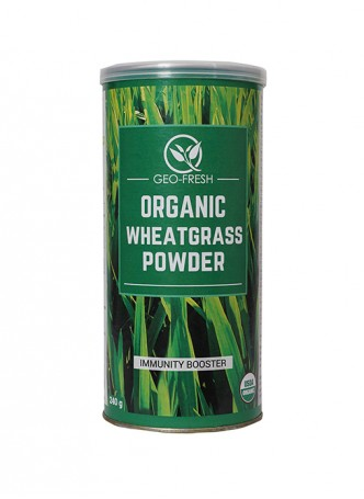 Geo-Fresh Organic Wheat Grass Powder -240 gm