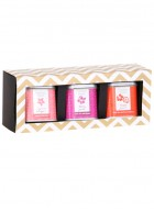 Gardner Street Gold and Black Gift Set - 3 Tin Gift Box