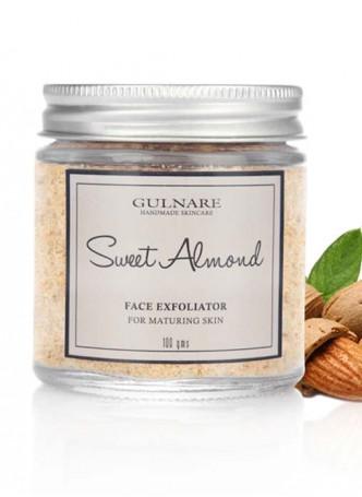 Gulnare Skincare Sweet Almond Face Exfoliator