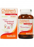 HealthAid Children's MultiVitamins-Minerals 30 Chewable Tablets
