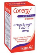 HealthAid Conergy Mega Strength CoQ-10-30mg