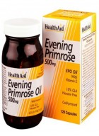 HealthAid Evening Primrose Oil 500mg With Vitamin E 30 Capsules