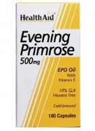 HealthAid Evening Primrose Oil 500mg With Vitamin E 60 Capsules