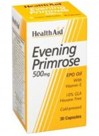 HealthAid Evening Primrose Oil 500mg With Vitamin E 120 Capsules