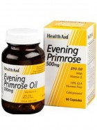 HealthAid Evening Primrose Oil 500mg With Vitamin E 180 Capsules