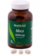 HealthAid Maca 500mg-Equivalent