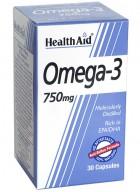 HealthAid Omega 3-750mg