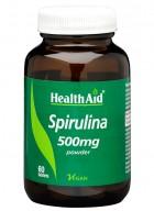 HealthAid Spirulina 500mg