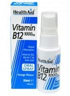 HealthAid Vitamin B12 1000µg Spray