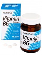 HealthAid Vitamin B6-Pyridoxine HCl-50mg