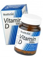 HealthAid Vitamin D 500iu-Vitamin D2-Ergocalciferol