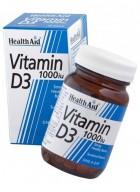 HealthAid Vitamin D3 1000iu-Cholecalciferol