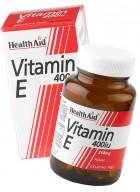 HealthAid Vitamin E 400iu-d-alpha Tocopherol 30 Capsules