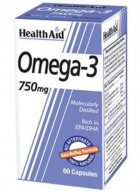 HealthAid Omega 3 750mg (60 capsules)
