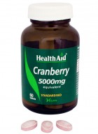 HealthAid Cranberry 5000mg-Equivalent
