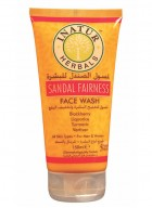Inatur Herbals Sandal Fairness Face Wash