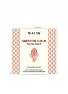 Inatur Saffron Gold Glow Facial Kit 65g