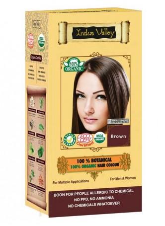 Indus Valley 100% Oragnic Brown Hair Colour