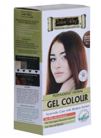 Indus Valley Natural Medium Copper Blonde Gel Hair Colour